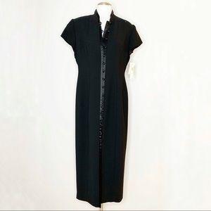 NWT Jones NY Mandarin Style Button Up Dress Sz 12